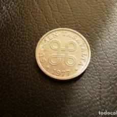 Monedas antiguas de Europa: FINLANDIA 5 PENNIA 1977. Lote 194735328