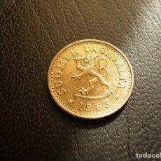 Monedas antiguas de Europa: FINLANDIA 10 PENNIA 1963. Lote 194735573