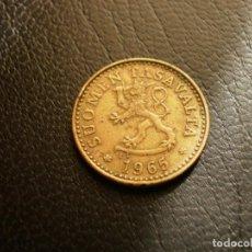 Monedas antiguas de Europa: FINLANDIA 10 PENNIA 1965. Lote 194735632