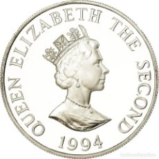 Monedas antiguas de Europa: MONEDA, ALDERNEY, ELIZABETH II, 2 POUNDS, 1994, PROOF, SC, PLATA, KM:7A. Lote 194740368