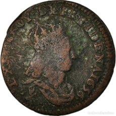 Monedas antiguas de Europa: MONEDA, FRANCIA, LOUIS XIV, LIARD DE FRANCE AU BUSTE JUVÉNILE, DEUXIÈME TYPE. Lote 194740900