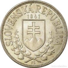 Monedas antiguas de Europa: MONEDA, ESLOVAQUIA, 20 KORUN, 1941, EBC+, PLATA, KM:7.1. Lote 194741235