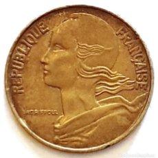 Monedas antiguas de Europa: MONEDA DE 20 CENTIMOS FRANCIA 1963. Lote 194742836
