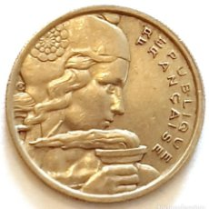 Monedas antiguas de Europa: MONEDA DE 100 FRANCOS FRANCIA 1955. Lote 194743132