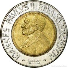 Monedas antiguas de Europa: MONEDA, CIUDAD DEL VATICANO, JOHN PAUL II, 500 LIRE, 1994, ROMA, MBC. Lote 194743356