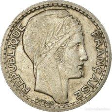 Monedas antiguas de Europa: MONEDA, FRANCIA, TURIN, 10 FRANCS, 1946, BEAUMONT - LE ROGER, MBC, COBRE -. Lote 194743815