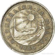 Monedas antiguas de Europa: MONEDA, MALTA, 2 CENTS, 1986, BRITISH ROYAL MINT, MBC, COBRE - NÍQUEL, KM:79. Lote 194743902