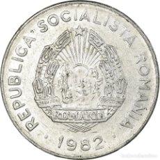 Monedas antiguas de Europa: MONEDA, RUMANÍA, 25 BANI, 1982, BC+, ALUMINIO, KM:94A. Lote 194743971