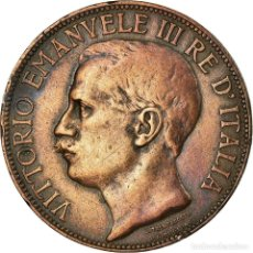 Monedas antiguas de Europa: MONEDA, ITALIA, VITTORIO EMANUELE III, 10 CENTESIMI, 1911, ROME, MBC, BRONCE. Lote 194743973