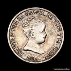 Monedas antiguas de Europa: ESPAÑA ISABEL II (1833-1868) 1 REAL. 1845 MADRID. C.L. PLATA.. Lote 194770788