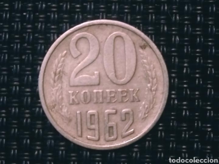 20 KOONEK 1962 CCCP (Numismática - Extranjeras - Europa)
