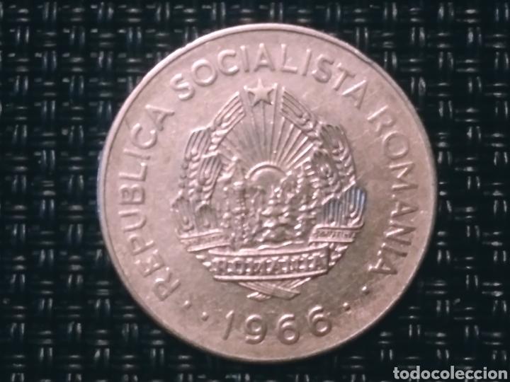 Monedas antiguas de Europa: 1 leu 1966 Rumanía - Foto 2 - 194780168