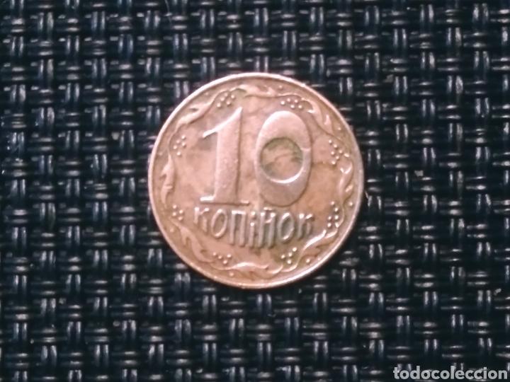 10 KONIHON 1992 UKRANIA (Numismática - Extranjeras - Europa)