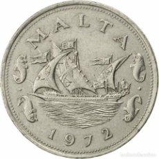 Monedas antiguas de Europa: MONEDA DE MALTA 1.972 ,10 CENT ,COBRE,NIQUEL,BC. Lote 194859091