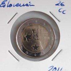 Monedas antiguas de Europa: MONEDA DE 2 € ESLOVENIA 2011, FRANC ROZMAN. Lote 194860726