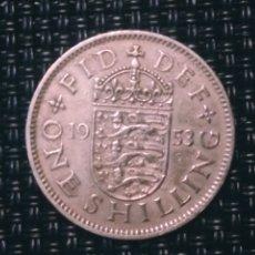Monedas antiguas de Europa: ONE SHILLING 1953 INGRATERRA. Lote 194864411