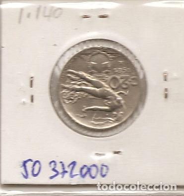 Monedas antiguas de Europa: ITALIA 1921R. MONEDA DE 20 CENTIMOS DE VITTORIO EMANUELE III. EBC - Foto 2 - 194882172