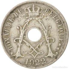 Monedas antiguas de Europa: MONEDA DE BELGICA 1.922 25 CENTIMES,COBRE NIQUEL. Lote 194883227