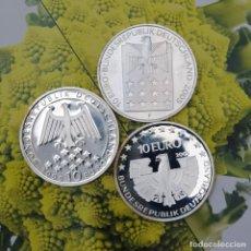 Monedas antiguas de Europa: LOTE LPM00008 3 MONEDAS DE 10 EUROS ALEMANIA 2 PROOF UNA MATE 2005. Lote 194890961