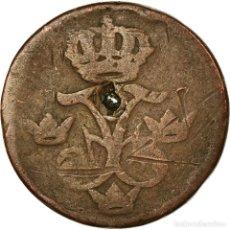 Monedas antiguas de Europa: MONEDA, SUECIA, FREDERICK I, ORE, S.M., 1741, BC, COBRE, KM:416.1. Lote 194891533