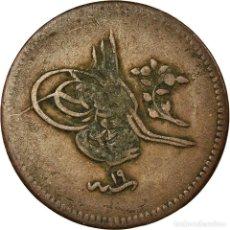 Monedas antiguas de Europa: MONEDA, TURQUÍA, ABDUL MEJID, 10 PARA, 1857/AH1255, QUSTANTINIYAH, BC+, COBRE. Lote 194891540