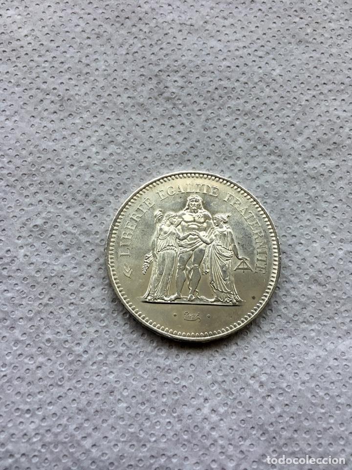FRANCIA 50 FRANCOS AÑO 1977 PLATA. (Numismática - Extranjeras - Europa)