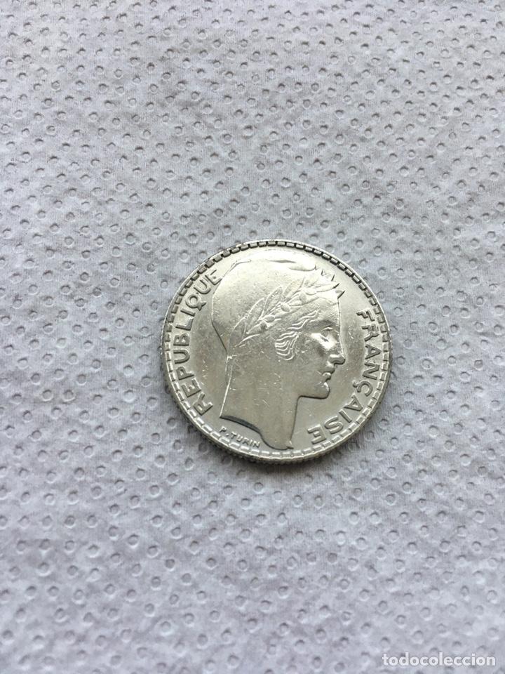 FRANCIA 10 FRANCOS AÑO 1933 S/C PLATA. (Numismática - Extranjeras - Europa)