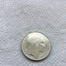 Monedas antiguas de Europa: FRANCIA 10 FRANCOS AÑO 1933 S/C PLATA.. Lote 194897660