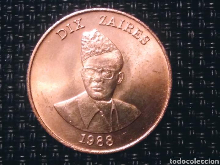 10 Z 1988 ZAIRE. SIN CORCULAR (Numismática - Extranjeras - Europa)