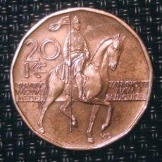 Monedas antiguas de Europa: 20 ZC 2002 REPÚBLICA CHECA. Lote 194903346