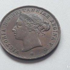 Monedas antiguas de Europa: JERSEY 1888 ONE-TWELFTH OF A SHILLING COIN.. Lote 194920076