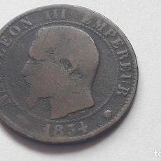 Monedas antiguas de Europa: 5 CENTIMOS 1854 NAPOLEON III. Lote 194920228