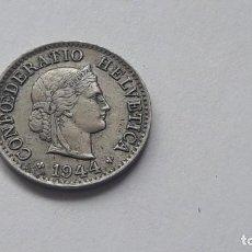Monedas antiguas de Europa: 5 FRANCOS 1944,FEDERATIO HELVETICA. Lote 194920655