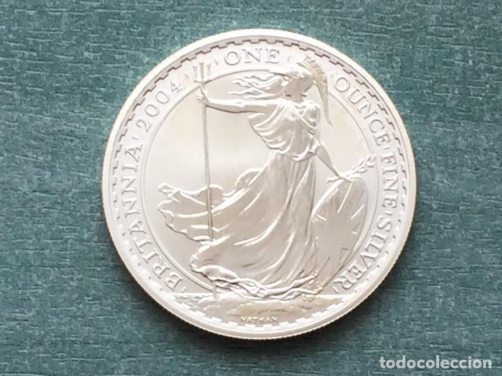 REINO UNIDO PLATA BRITANIA 2004 (Numismática - Extranjeras - Europa)