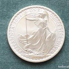Monedas antiguas de Europa: REINO UNIDO PLATA BRITANIA 2004. Lote 194923993
