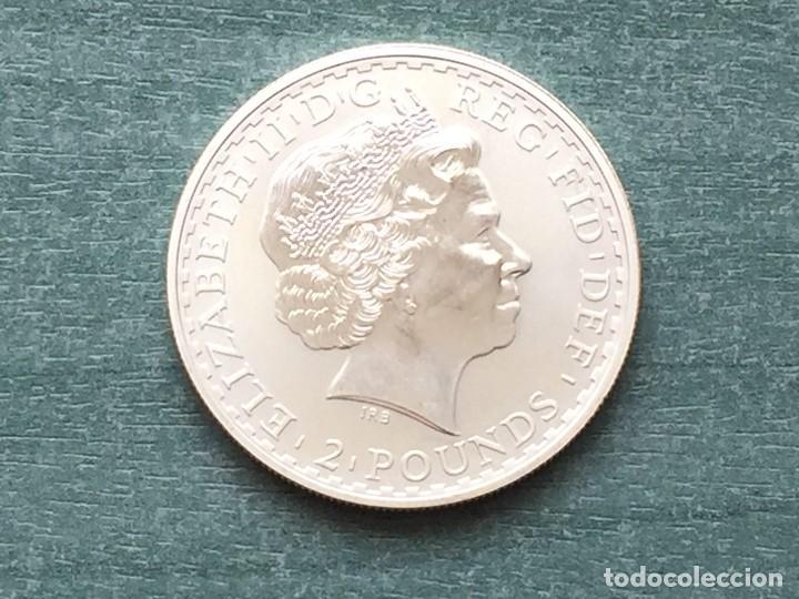 Monedas antiguas de Europa: REINO UNIDO PLATA BRITANIA 2004 - Foto 2 - 194923993