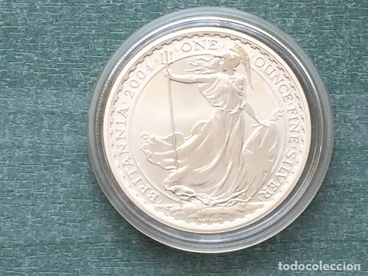 Monedas antiguas de Europa: REINO UNIDO PLATA BRITANIA 2004 - Foto 3 - 194923993