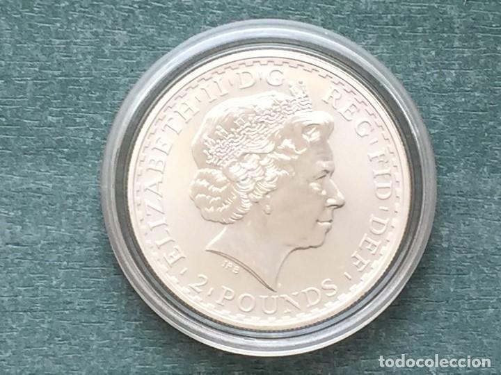 Monedas antiguas de Europa: REINO UNIDO PLATA BRITANIA 2004 - Foto 4 - 194923993