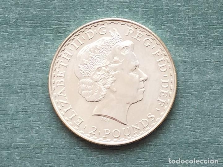 Monedas antiguas de Europa: REINO UNIDO BRITANIA 2005 - Foto 2 - 194924152