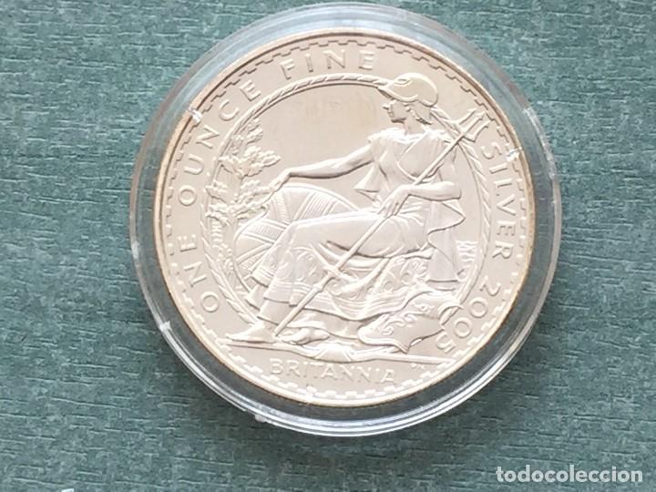 Monedas antiguas de Europa: REINO UNIDO BRITANIA 2005 - Foto 3 - 194924152