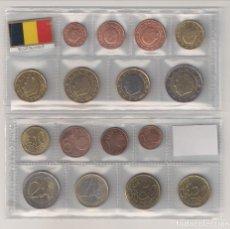 Monedas antiguas de Europa: TIRA DE LAS MONEDAS DE EURO DE BÉLGICA DEL AÑO 2007. SIN CIRCULAR.. Lote 194925488