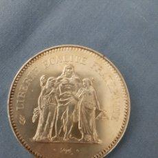Monedas antiguas de Europa: 50 FRANC PLATA. Lote 194975782