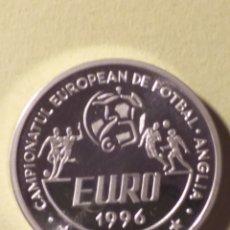 Monedas antiguas de Europa: RUMANIA 100 LEI DE PLATA 1996. Lote 194976645
