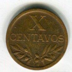 Monedas antiguas de Europa: PORTUGAL 10 CENTAVOS AÑO 1960 - SE ENVIA LA MONEDA DE LAS IMAGENES -. Lote 195056841