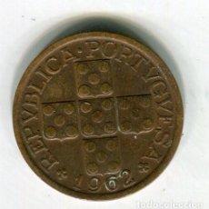 Monedas antiguas de Europa: PORTUGAL 10 CENTAVOS AÑO 1962 - SE ENVIA LA MONEDA DE LAS IMAGENES -. Lote 195057020