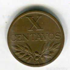 Monedas antiguas de Europa: PORTUGAL 10 CENTAVOS AÑO 1965 - SE ENVIA LA MONEDA DE LAS IMAGENES -. Lote 195057146