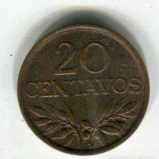 Monedas antiguas de Europa: PORTUGAL 20 CENTAVOS AÑO 1972 - SE ENVIA LA MONEDA DE LAS IMAGENES -. Lote 195057275