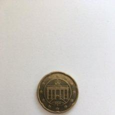 Monedas antiguas de Europa: 20 EURO CENT ALEMANIA 2016 D CIRCULADA. Lote 195065436