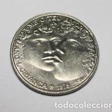 Monedas antiguas de Europa: 102,, MONEDA DE PORTUGAL DE 25 ESCUDOS NIQUEL AÑO 1979 AÑO INTERNACIONAL DEL NIÑO MBC+. Lote 195143971