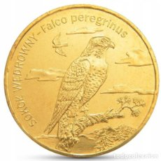 Monedas antiguas de Europa: POLONIA 2 ZLOTYH 2008 HALCON UNC. Lote 195153970